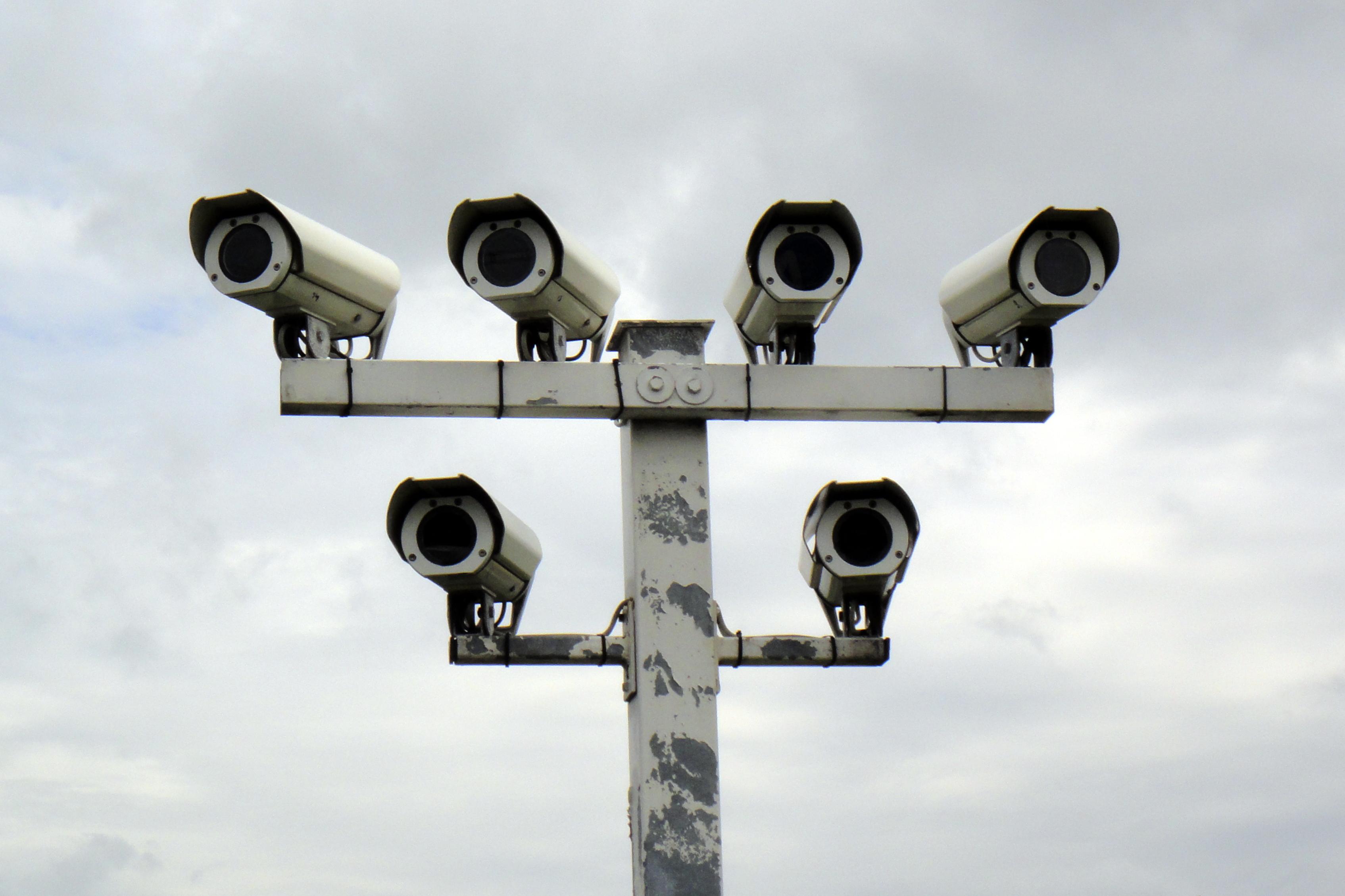 """Die USA bauen die Überwachung des öffentlichen Raums """"massiv"""" mit Hilfe von Kameras und Mikrofonen aus. Quelle: Wikipedia, Lizenz: CC BY 3.0"""