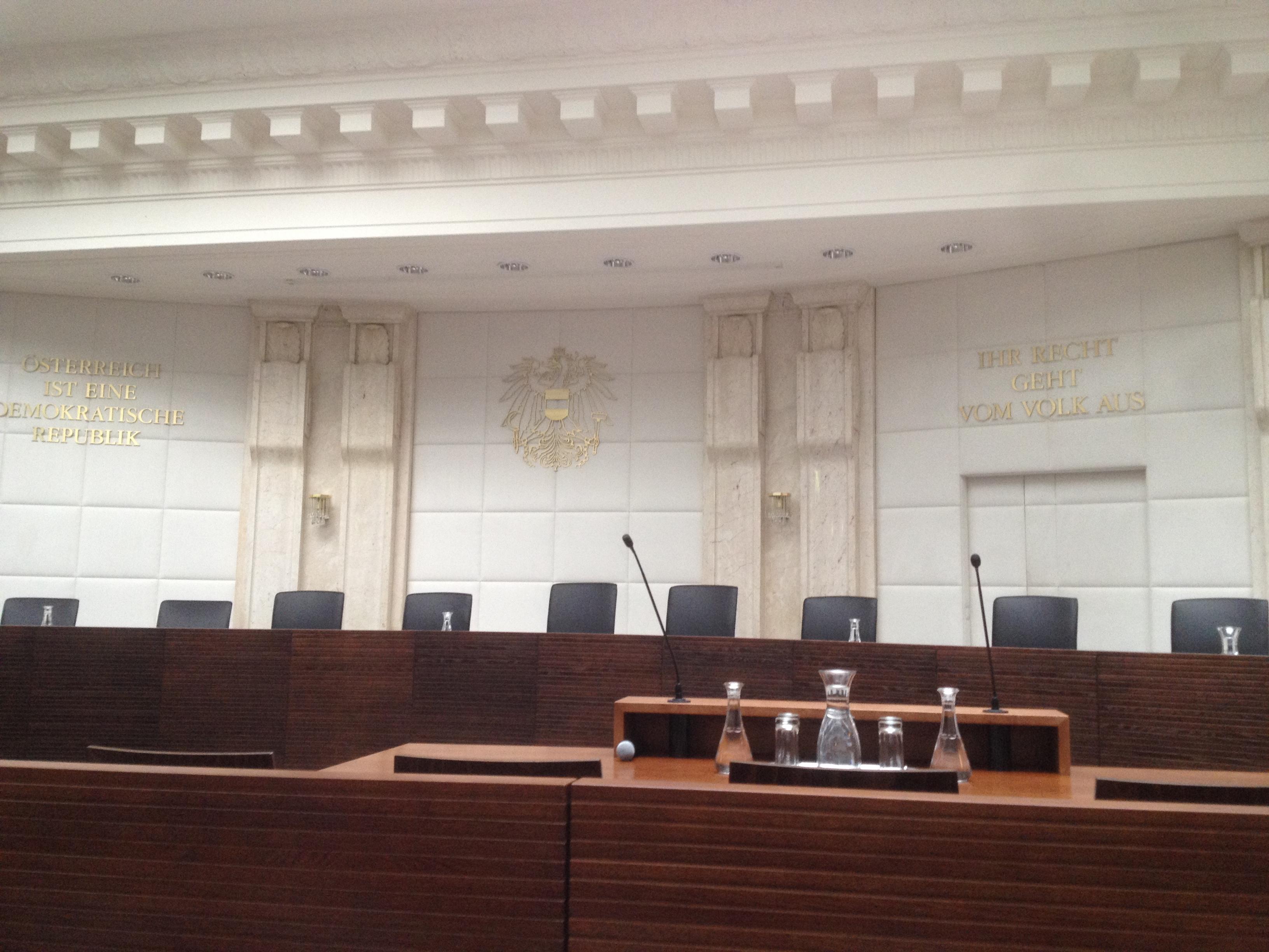 Verfassungsgerichtshof in Österreich