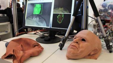 """BMBF-Projekt """"FeGeb - Fälschungserkennung für die Gesichtsbiometrie"""". (Bild: Broschüre)"""