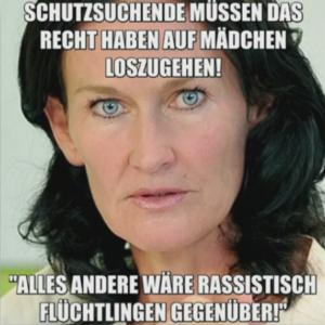 27 Anzeigen stelle die österreichische Fraktion der Grünen, nachdem dieses Bild im Internet kursierte - allesamt mit Erfolg. Quelle: Video