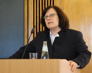 Prof. Dr. Beate Rudolf, Direktorin des Deutschen Instituts für Menschenrechte (Fotoquelle: Humanistisch Union)