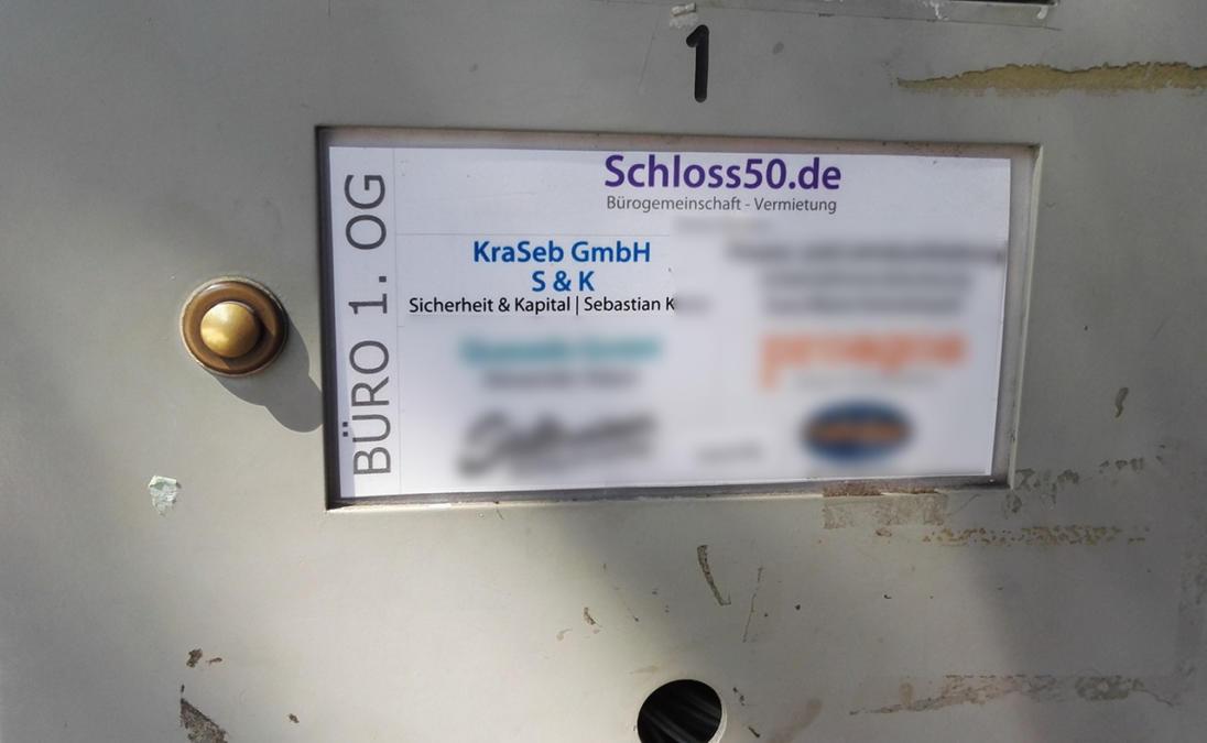Der Verband teilt sich ein Zimmer mit der KraSeb GmbH in einer Bürogemeinschaft