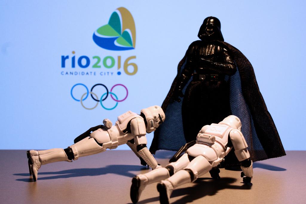 Ob dieses Bild wohl nach dem Reglement des IOC von Privatpersonen über Social Media geteilt werden darf?  Foto: CC-BY-NC-SA 2.0  DocChewbacca