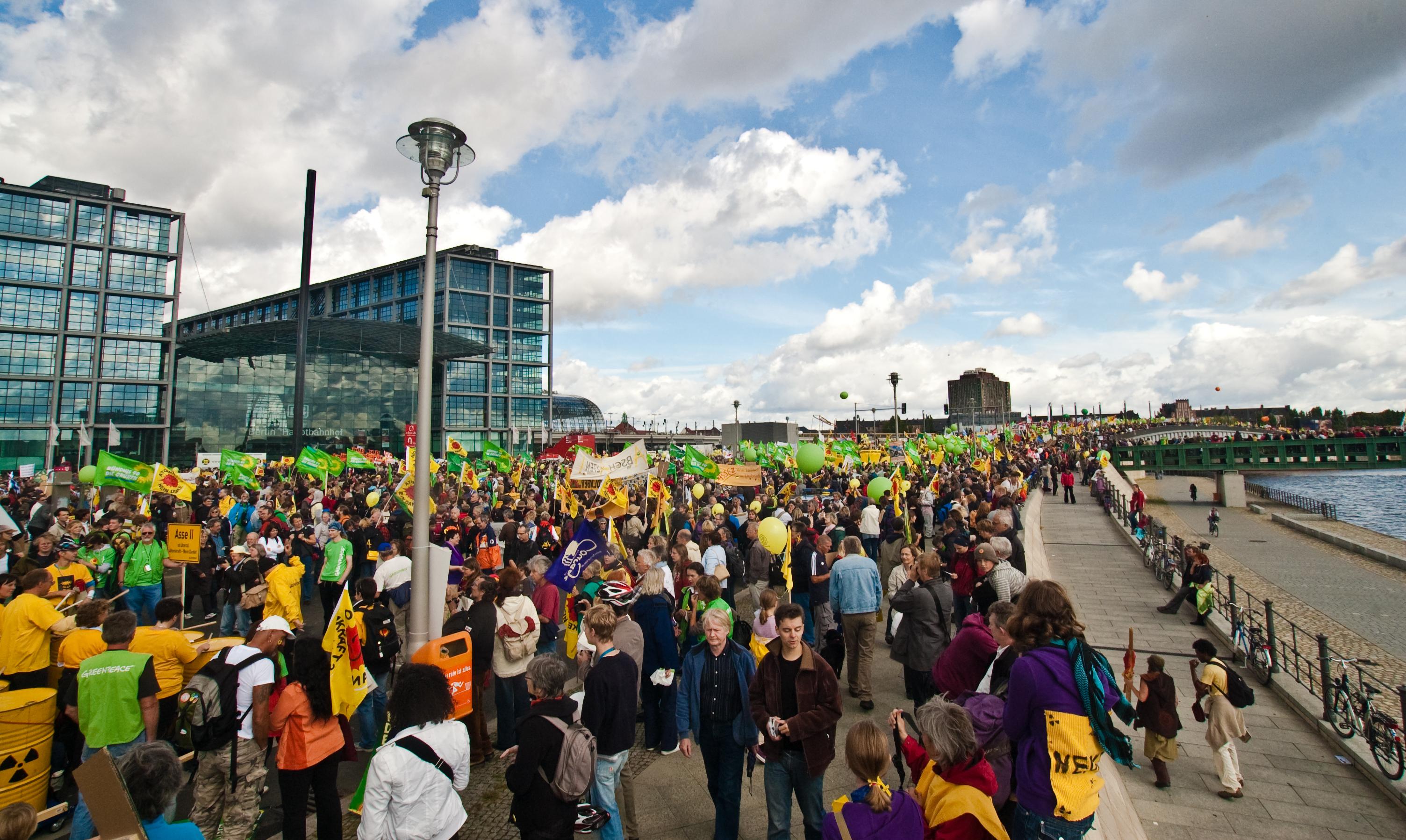 2009 unrechtmäßig von der Polizei gefilmt: Anti-Atom-Demo in Berlin - CC BY 2.0 via wikimedia/Lauri Myllyvirta