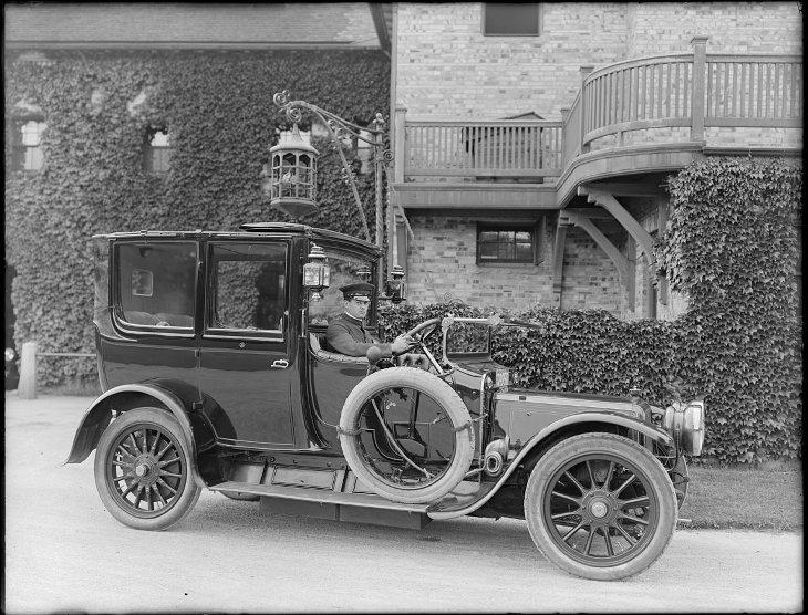 auto-chauffeur, 1930