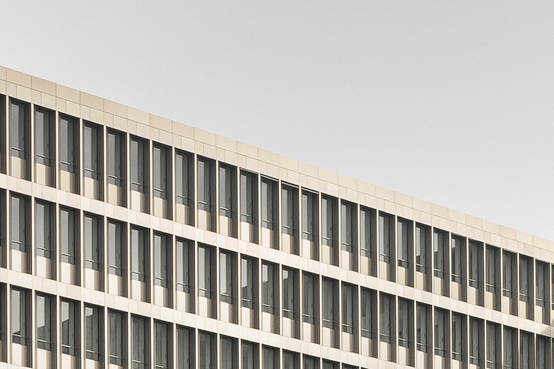 Fassade der neuen BND-Zentrale in Berlin. Foto: CC-BY-NC-SA 2.0 Andreas Levers
