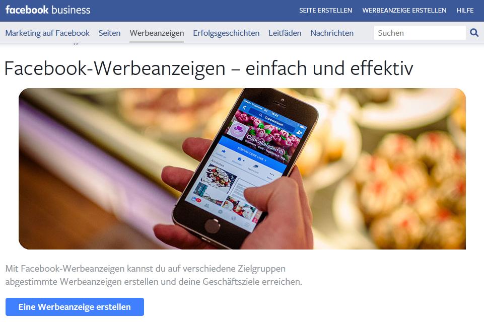 Facebooks Geschäftsmodell basiert auf individualisierter Werbung.