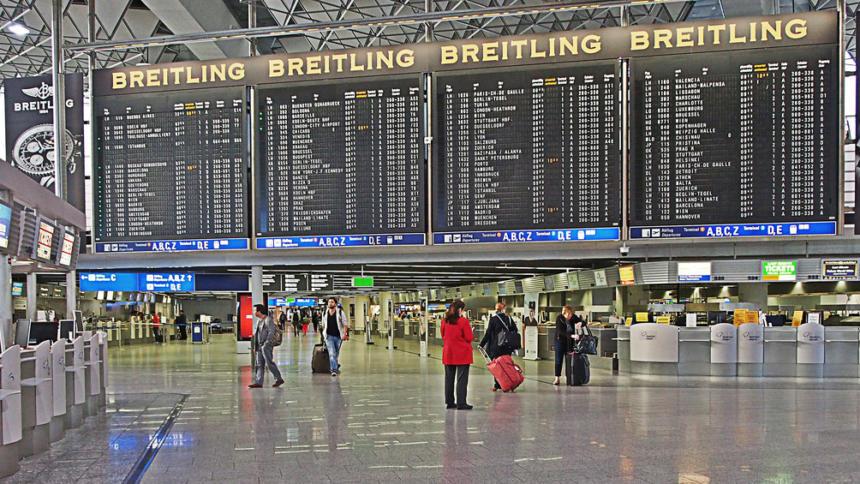 Frankfurt-Airport.De Ankunft