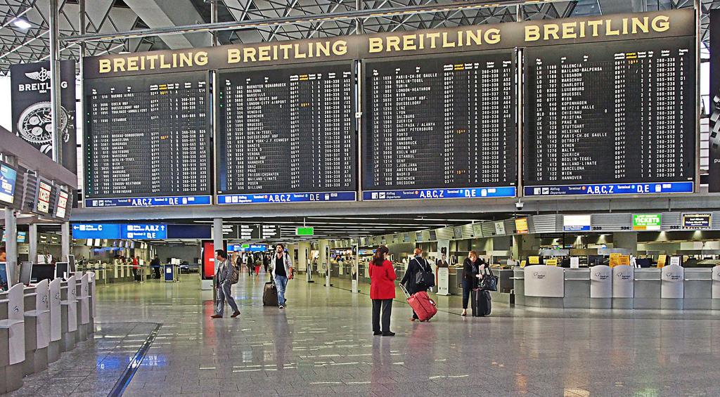 Frankfurt Airport Abflug Lufthansa