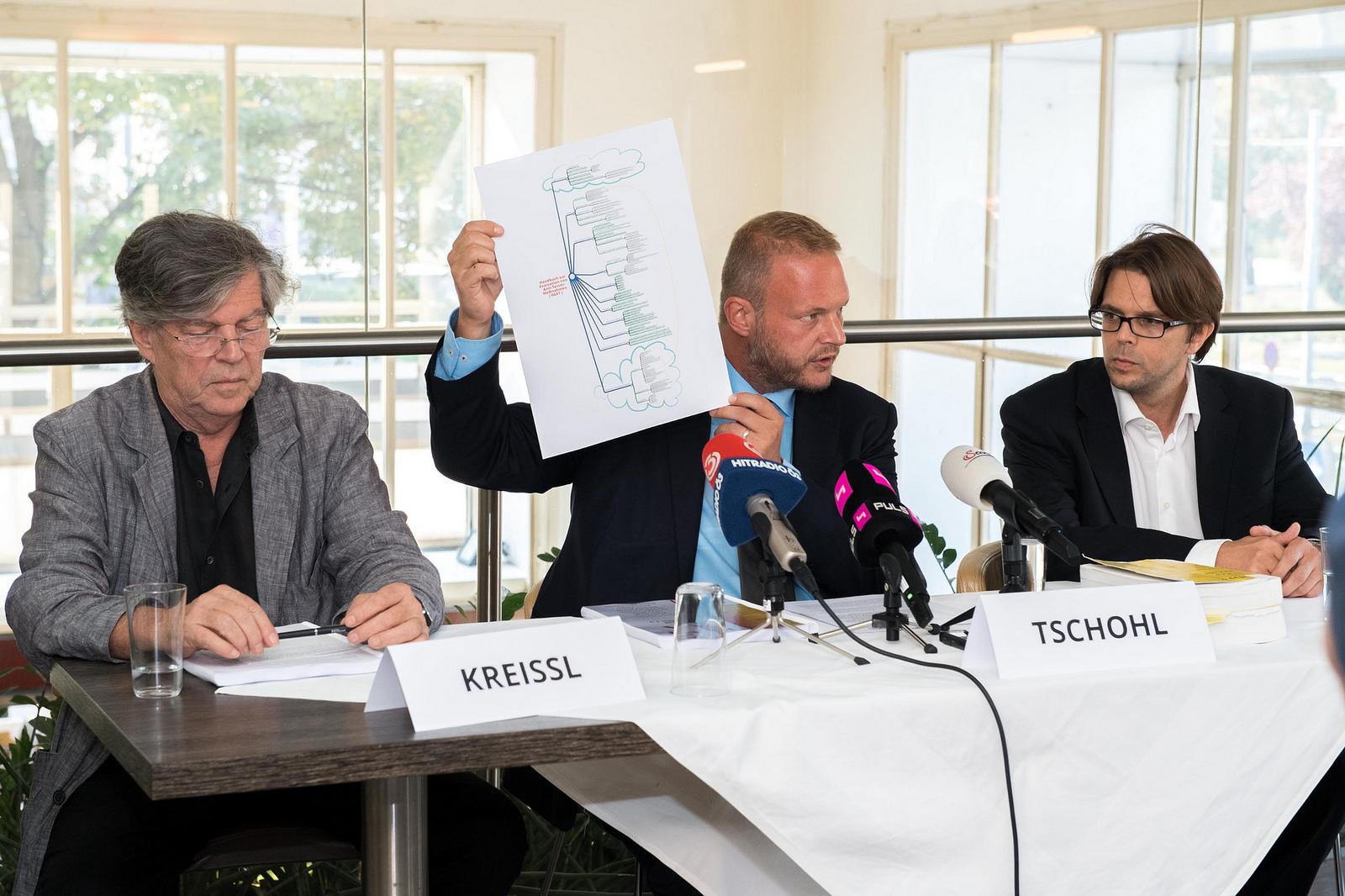 Pressekonferenz zur Vorstellung des Handbuches. Foto: CC-BY-SA 2.0 / AK Vorrat AT