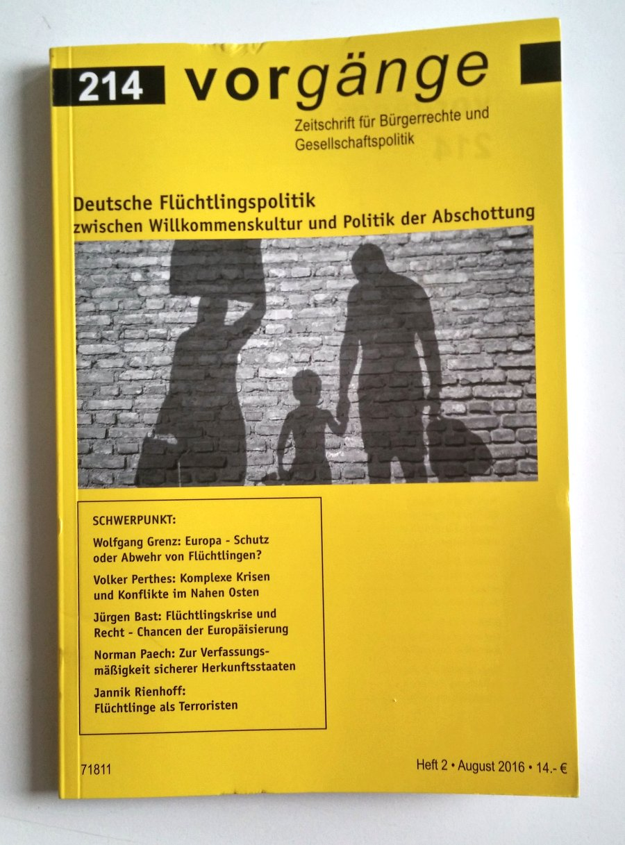 vorgänge – Zeitschrift für Bürgerrechte und Gesellschaftspolitik