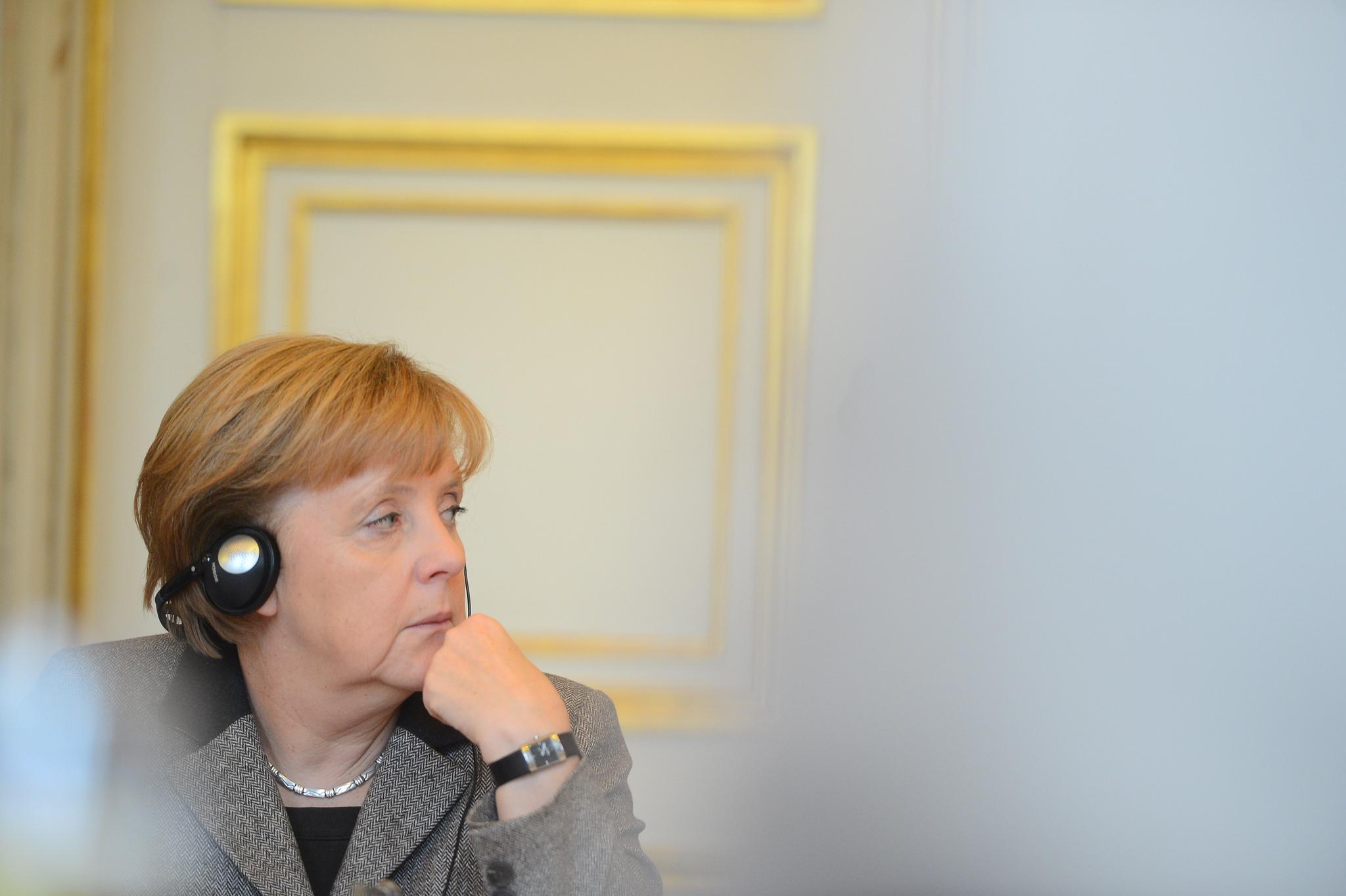 Die Kanzlerin meint: Digitalisierung ist toll, man braucht aber auch Fakten im Kopf.