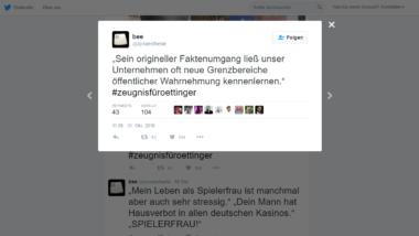 Günther Oettingers rassistische und homophobe Äußerungen lassen Twitter-Nutzer nicht unkommentiert.