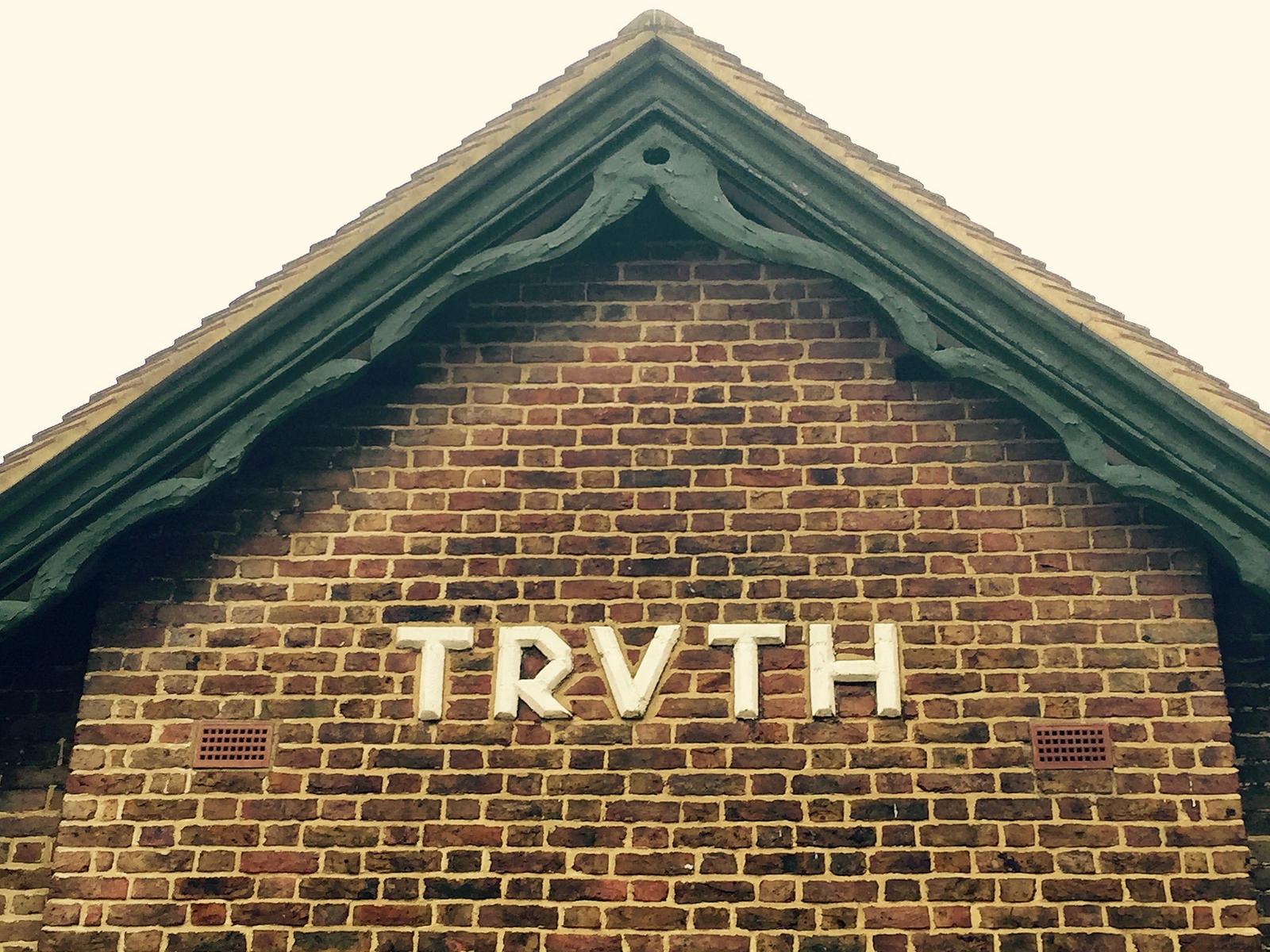 Es gibt keine Wahrheit, aber Medienkompetenz. Foto: CC-BY 2.0 Matt From London