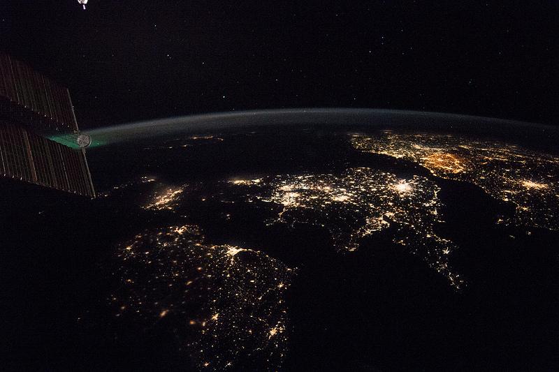 Europa vom Weltall