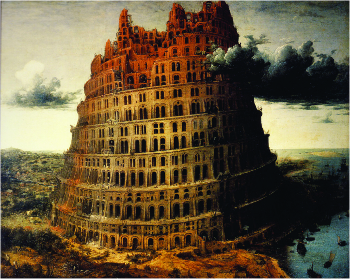 Facebook: Ein Turmbau zu Babel? CC BY-NC-SA 2.0, via flickr/ Trebor Scholz