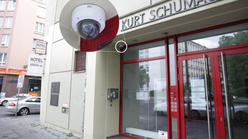 Berliner Spd Unrechtmassige Videouberwachung Vor Parteizentrale