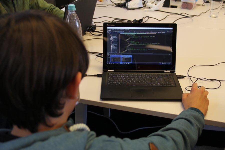 Foto: coderdojo coding