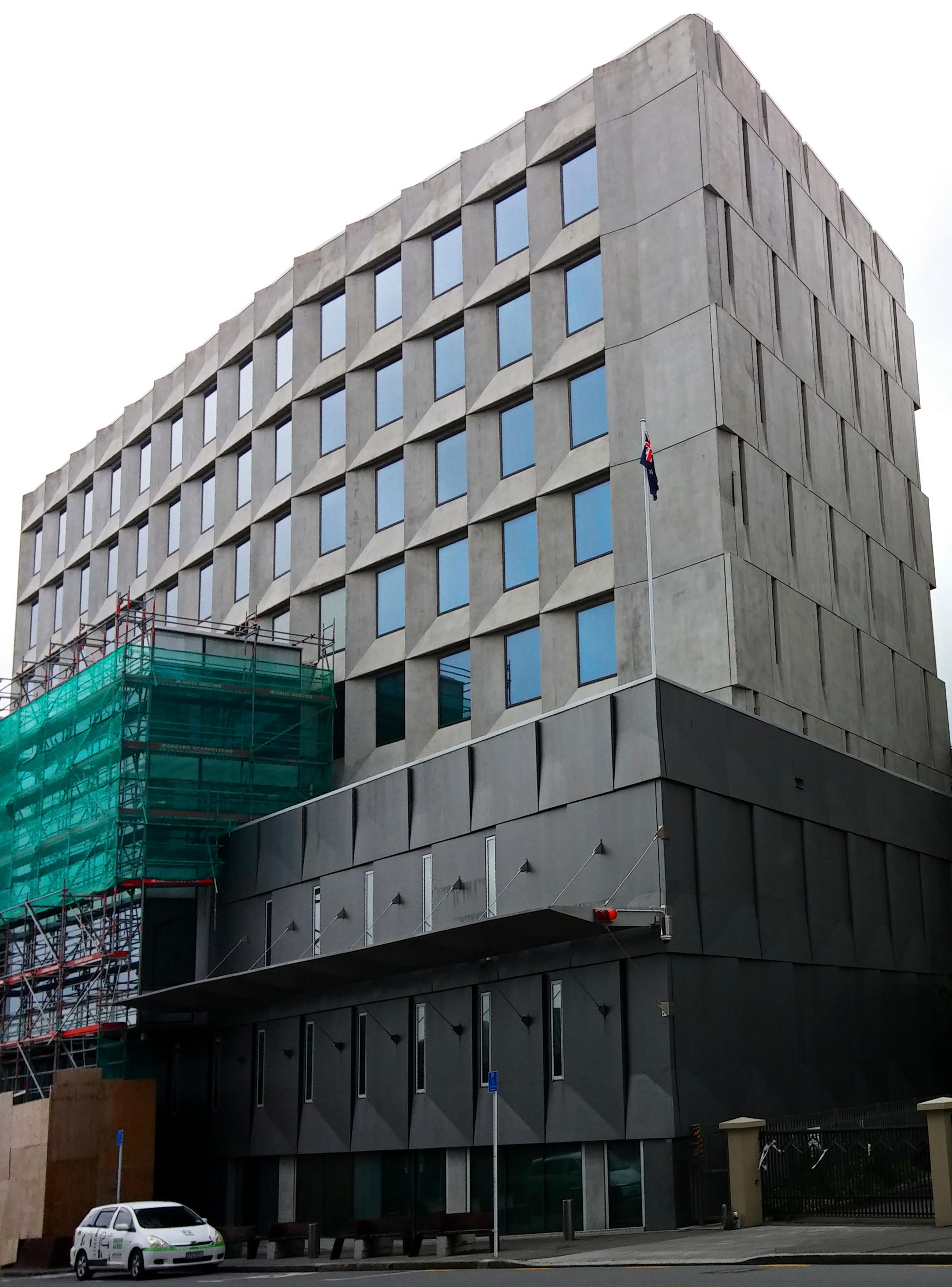 Die GCSB-Zentrale in Wellington.