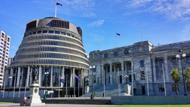 Das neuseeländische Parlament
