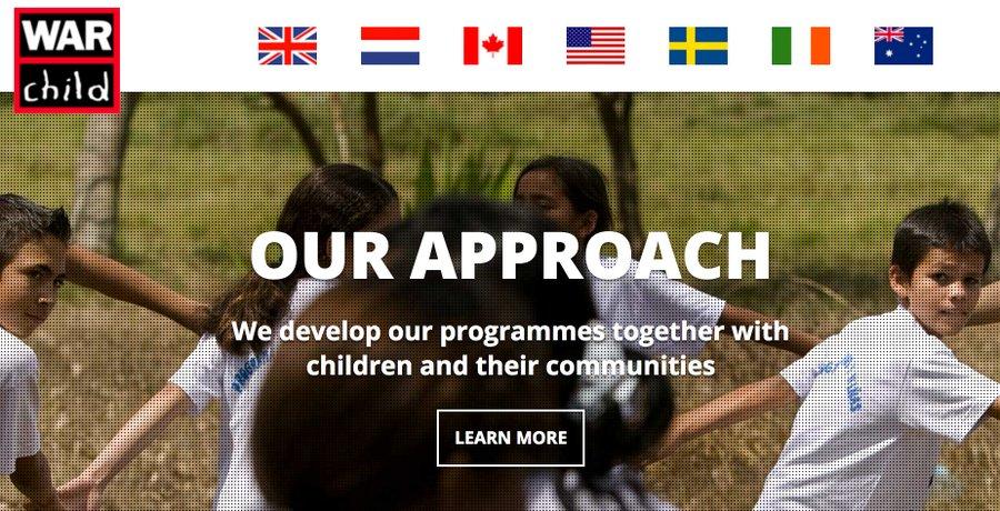 war child website