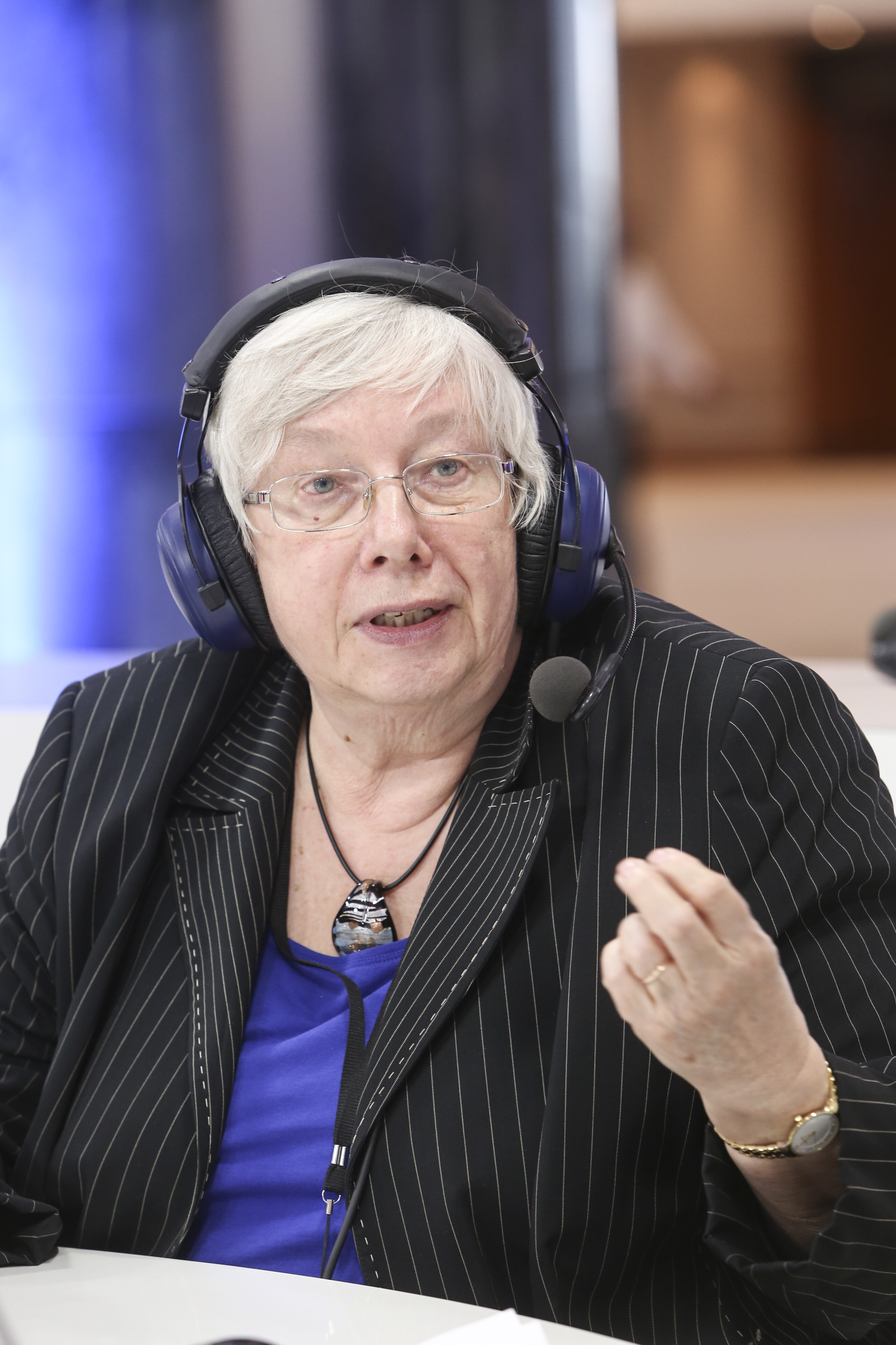 Die federführende EU-Parlamentarierin für die Verhandlung der ePrivacy-Verordnung: Sozialdemokratin Marju Lauristin