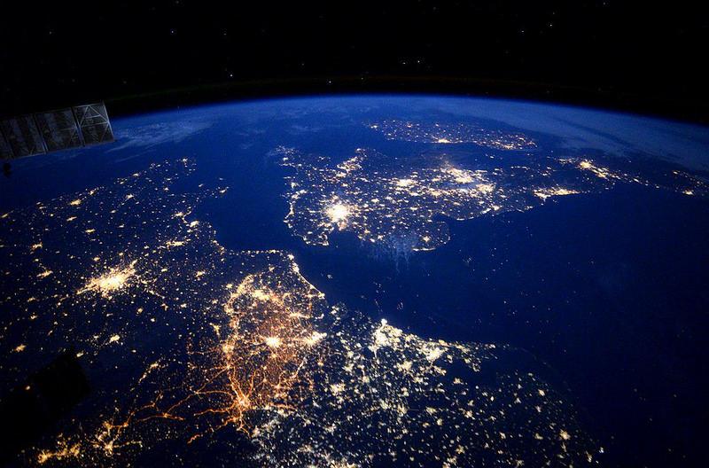 deutschland aus dem orbit