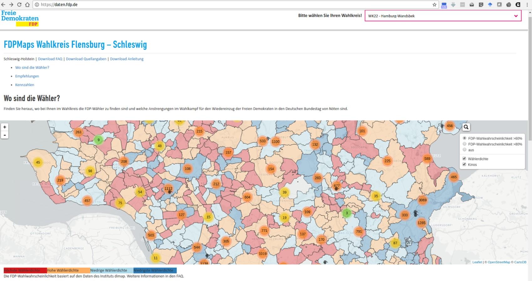 Wahlkampf Netzpolitikorg
