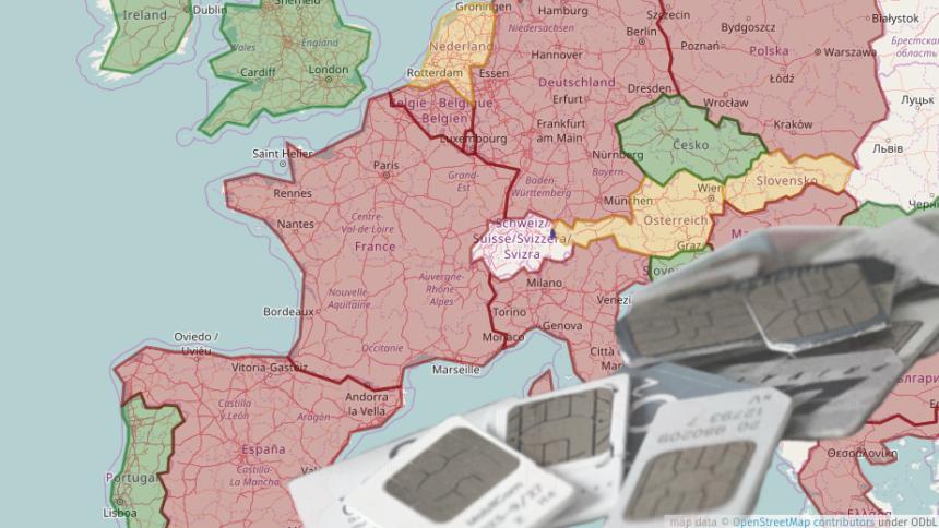 Frankfurt Karte Europa.Interaktive Karte Registrierungspflicht Für Prepaid Sim Karten In
