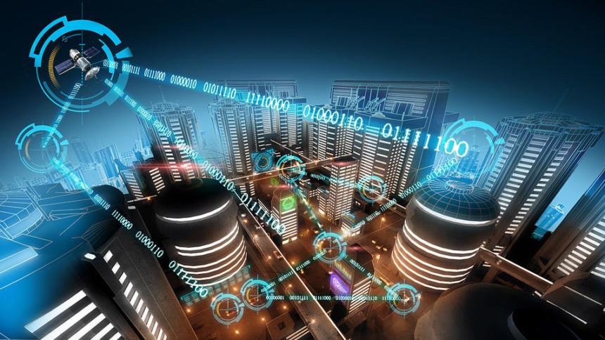 Visionen Der Digitalen Stadt Smart Sharing Oder Open