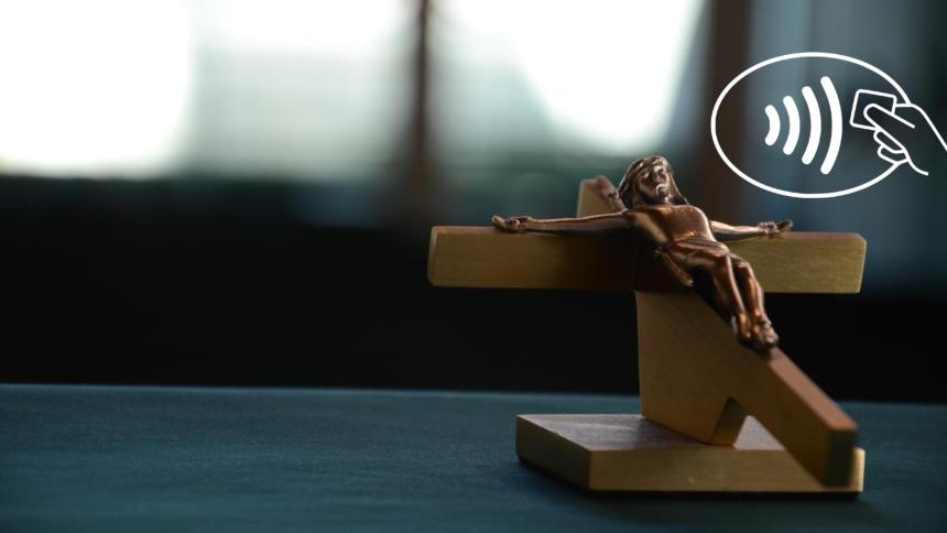Mon Dieu: Pariser Kirche nimmt nun auch kontaktlos Spenden entgegen