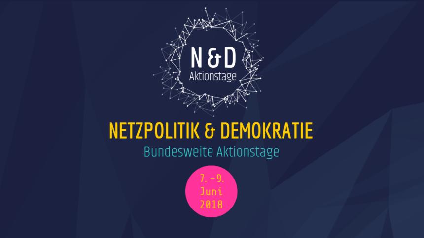 Netzpolitik in Schrankenhusen-Borstel? Bundesweite Aktionstage im Juni!