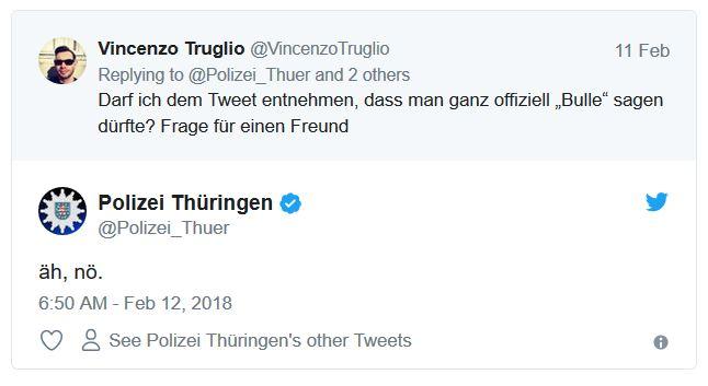 Twitter Und Die Hauptstadtbullen Darf Die Polizei Eigentlich Ironie