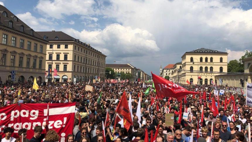 München Demo Polizeigesetz