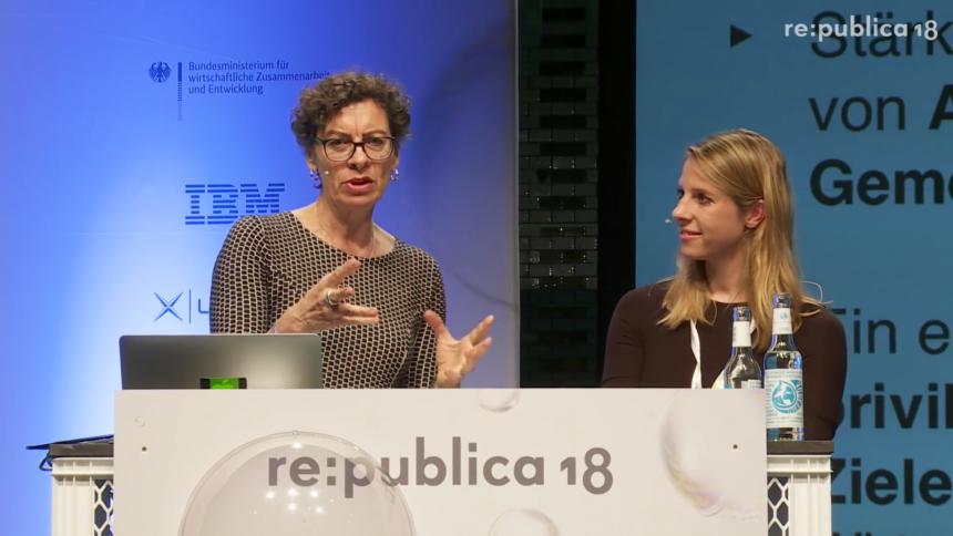 re:publica 2018: Alles Digitalpolitik oder was? Die (Erfolgs-)geschichte der Netzpolitik