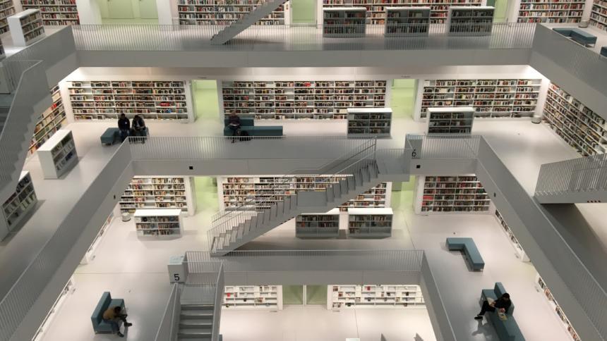 Die Bibliotheken sind noch nicht im Netz angekommen