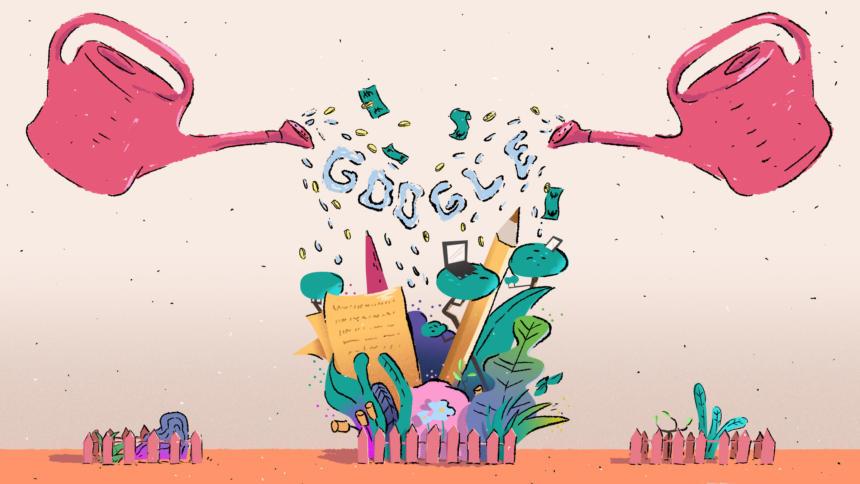 Google Garten Geld