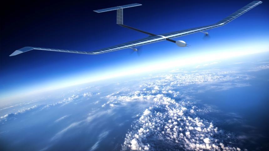 Airbus Zepyhr drone