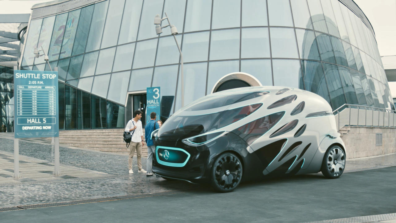 "Mercedes-Prototyp ""Vision Urbanetic"""