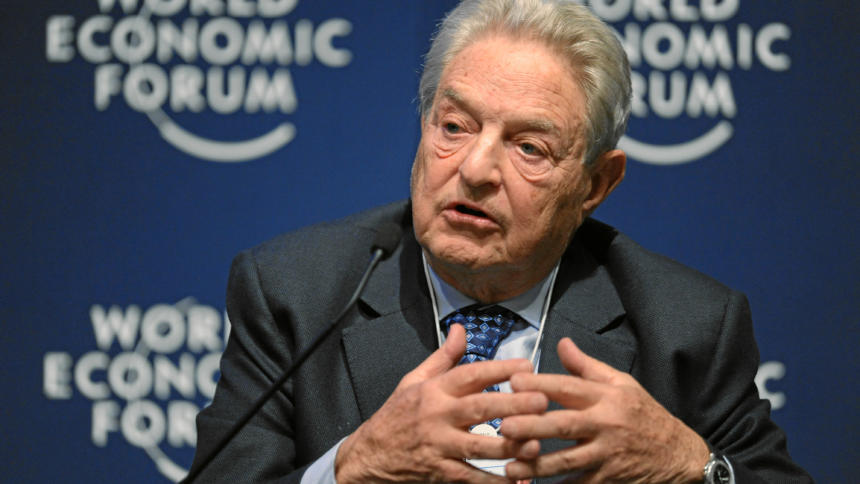 George Soros beim World Economic Forum 2011