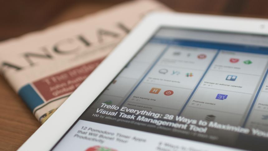 Zeitung Tablet