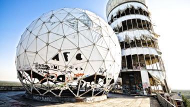 Die Abhörstation auf dem Teufelsberg in Berlin