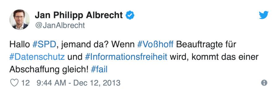 albrecht, twitter