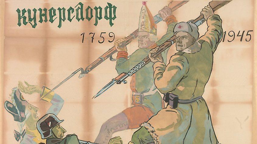 Russische Propaganda-Kunst des 2. Weltkriegs aus der Hand des Malers Vladimir Alekseevich Milashevskii