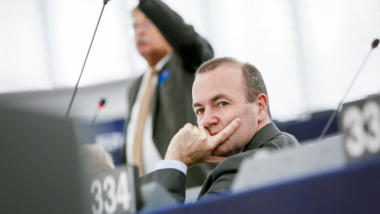 Manfred Weber im EU-Parlament