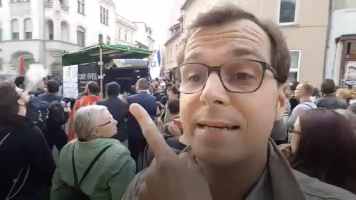 Martin Kaul streamt live aus Köthen.