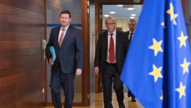 Martin Selmayr, Jean Claude Juncker