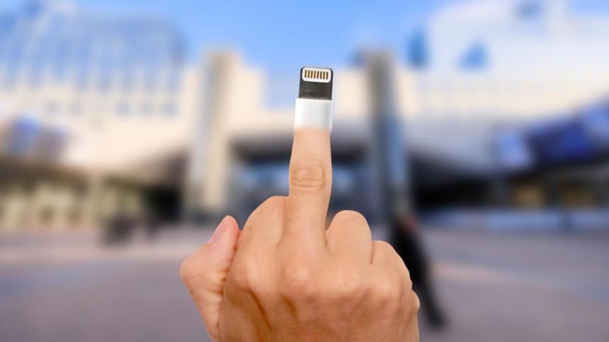 finger reinstecken