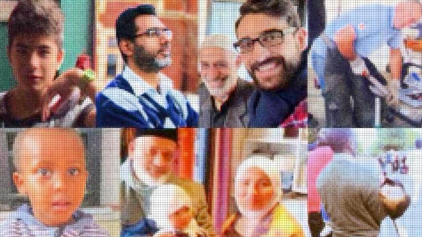 Fotos von Opfern des Anschlags von Christchurch