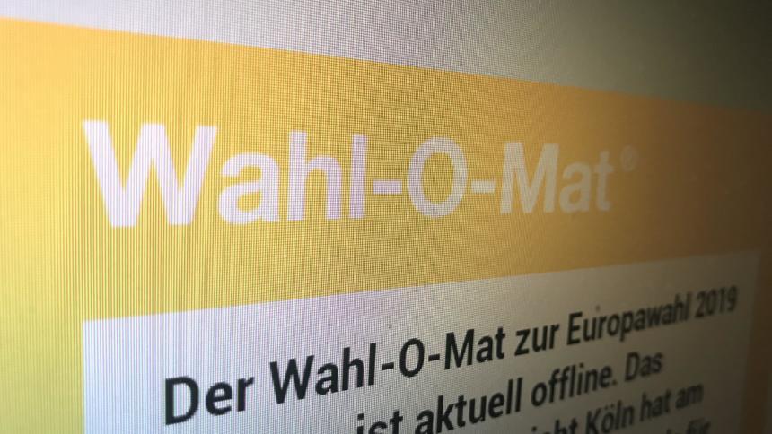 Screenshot Wahl-O-Mat
